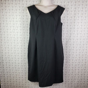 Mossimo Black Sleeveless Sheath Dress Size 18